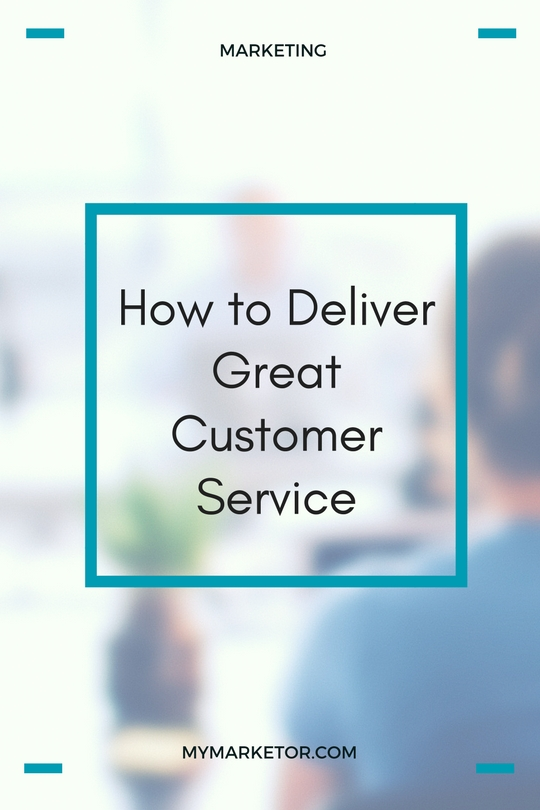 Great customer service is not only the right thing to do; it also makes good business sense.