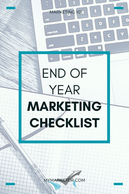 End of Year Marketing Checklist