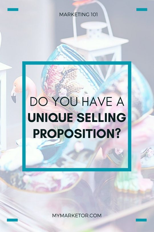 A Unique Selling Proposition (USP) makes your business stand out from the crowd