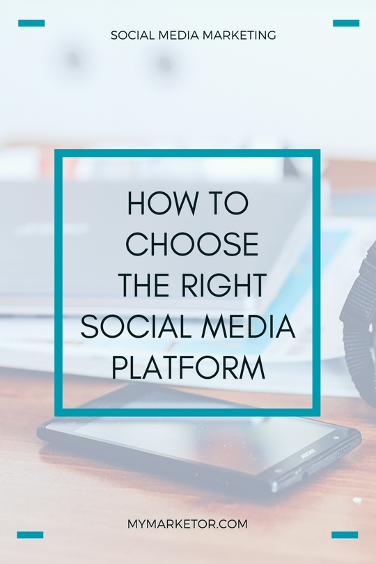 How to choose the right social media platform for your small business