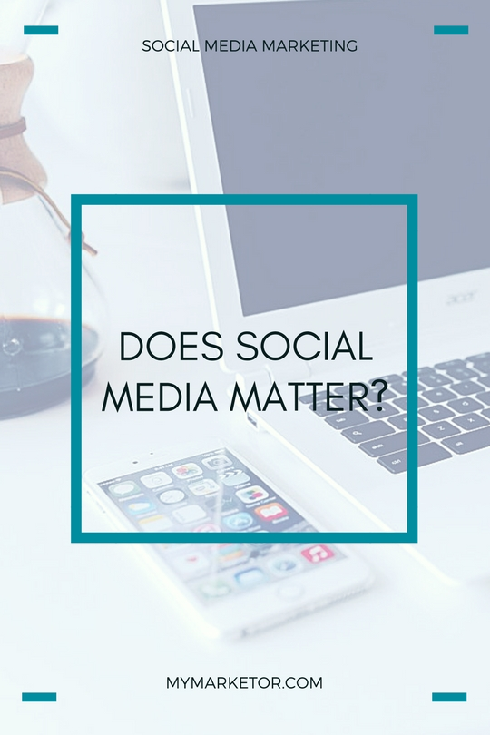 Does social media matter to your small business? Is it worth your time and effort?